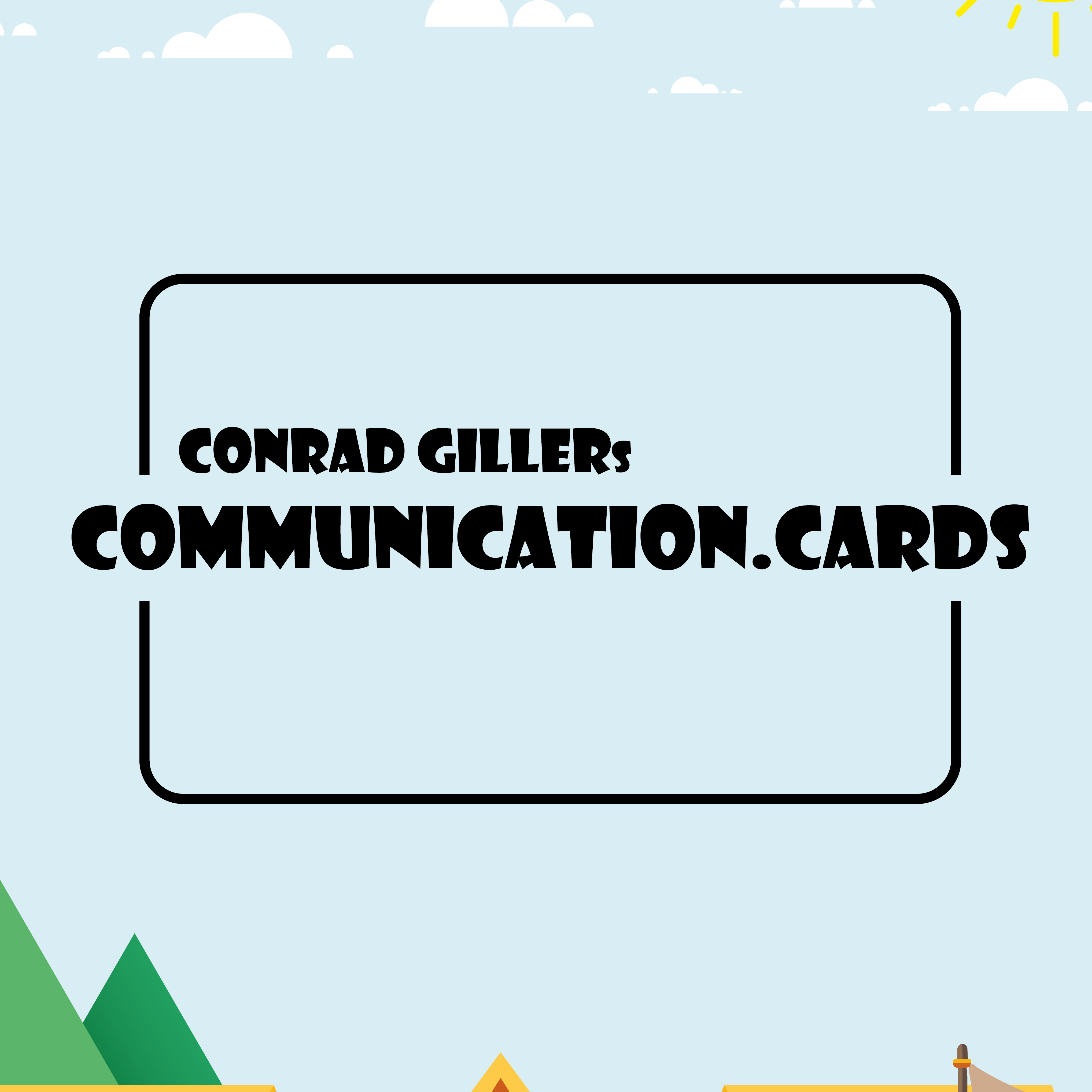 Conrad Gillers Communication Cards