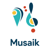 Logo Musaik - grenzenlos Musizieren e.V.