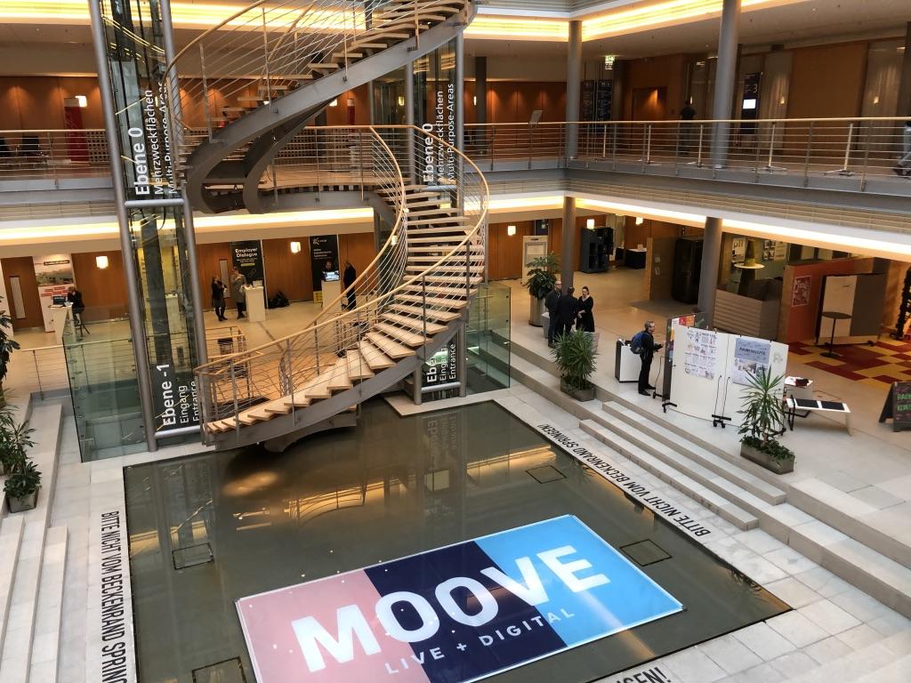 Blick auf die WORKplus Ausstellungsfläche