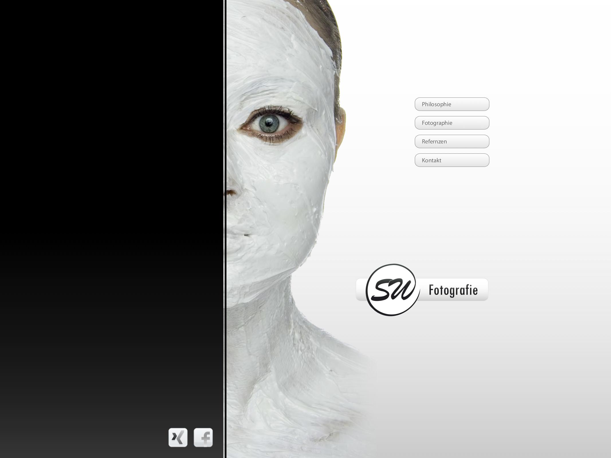 (Entwurf) Website SW Fotografie